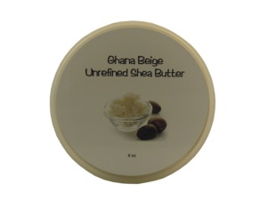 Our Ghana Shea Butter is free of any additives.