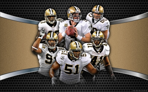Courtesy New Orleans Saints and NFL Fanzone