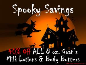Spooky Savings 2013