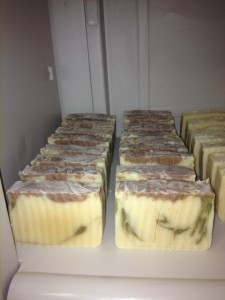 We're bringing our new Eucalyptus Goat's Milk Soap and more!