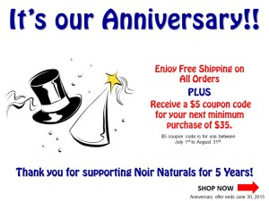 2015 Anniversary Promotion